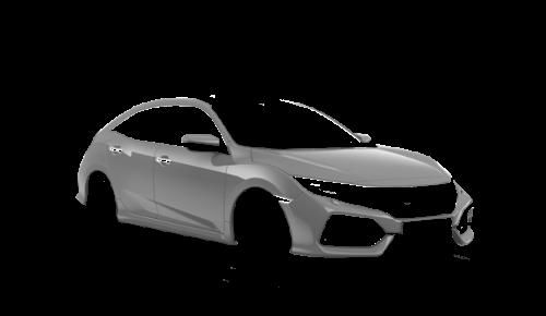 Цвета кузова Civic 5D