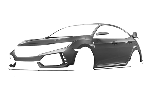 Цвета кузова Civic Type R